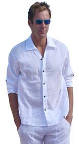 Camisa Manga Larga Caballero Algodón Modelo (harbor)