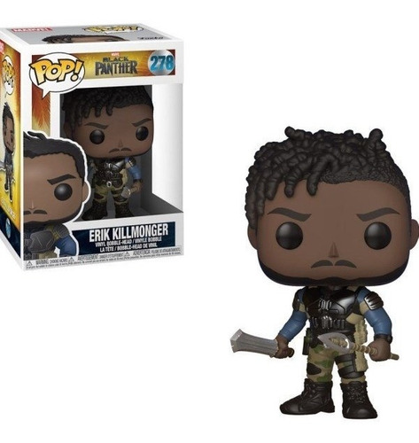Funko Pop Erik Killmonger 278 Black Panther Marvel Baloo Toy