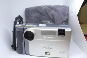 Filmadora Digital Sharp Vl-dx1 Made In Japan P/ Colecionador