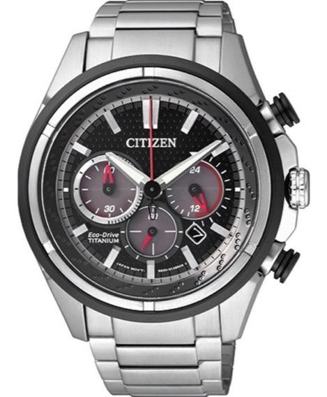 Relógio Citizen Masculino Eco Drive Super Titanium Ca4240-58