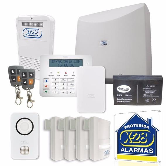 Kit De Alarma Para Casa- De 8 Zonas Con Llamador
