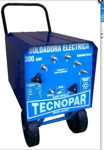 Soldadora Electrica 300 Amp.  Tecnopar  Ind.arg