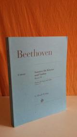 Beethoven. Sonaten Für Klavier Und Violine.volume 2.urtext.