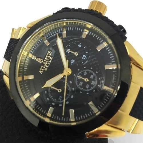 Relógio Masculino Atlantis Style A3278 Original