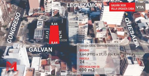 Imagen 1 de 5 de Terreno Villa Urquiza