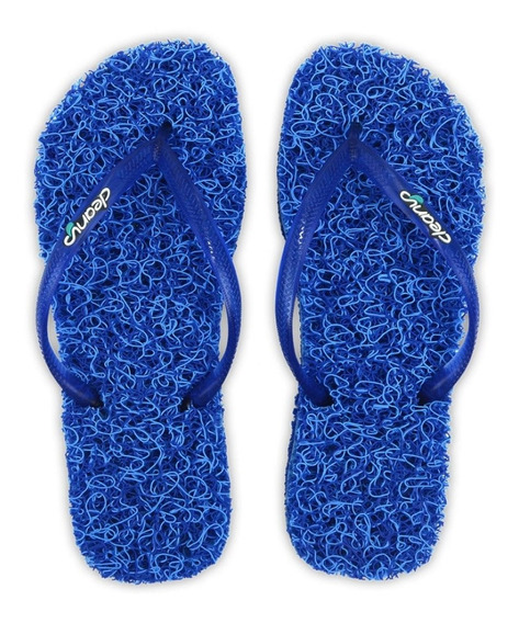 Chinelo Massageador Feminino Cleanup Ocean Slim Azul St204