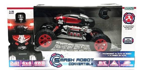 Auto A Radio Control Smash Robot Convertible 4x4 Ditoys