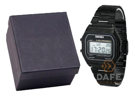 Relógio Skmei 1123 Retrô C/caixa E Nf