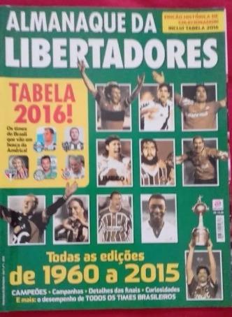 Revista Campeões Da Libertadores De 1960 A 2015 Frete Gratis