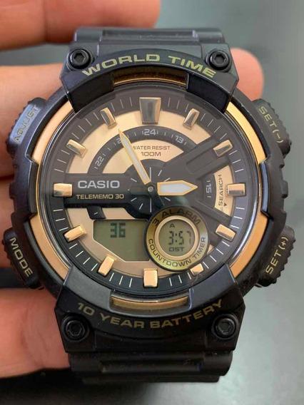 Casio World Time Aeq 110