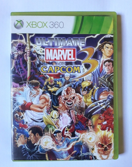 Ultimate Marvel Vs. Capcom 3 Original Midia Fisica Xbox 360