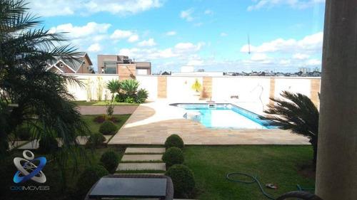Sobrado Com 4 Dormitórios À Venda, 450 M² Por R$ 3.030.000,00 - Condomínio Reserva Do Paratehy - São José Dos Campos/sp - So0464