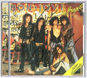 Cd Bon Jovi 1989 - Bon Jovi In Brazil