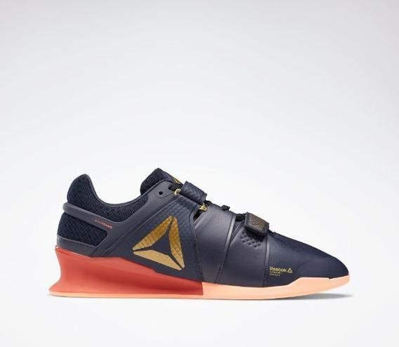 Reebok Legacy Lifter -preto-laranja-41,5
