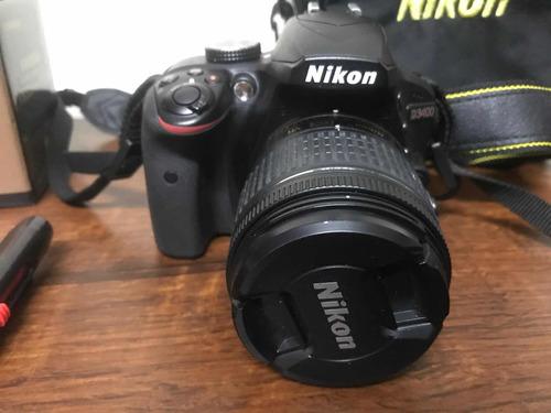 Nikon D3400  Com Lente Do Kit