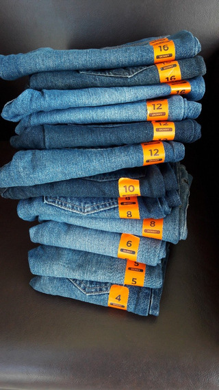 Lote De 12 Jeans Para Niño