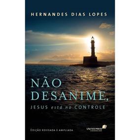 Kit 20 Unid Livro Não Desanime Jesus Esta No Controle