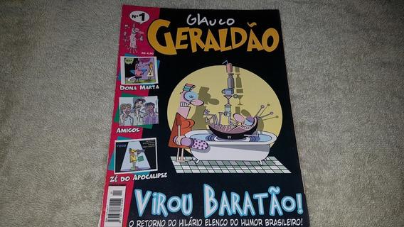 Hq Glauco - Geraldão Nº 1 - 2003 - Formato Álbum