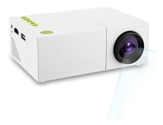 Mini Proyector Lcd Portátil G19 + Yg310 1080p Hd