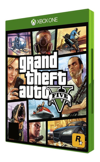 Game Gta V Grand Theft Auto 5 Xbox One Mídia Dvd Original Pt