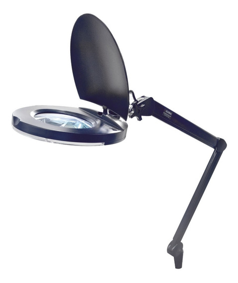 Lámpara Led De Escritorio Con Lupa 5x De 5 Pulgadas De Diám