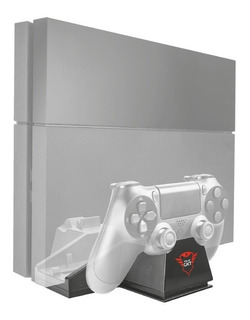Cooler Ps4 Fat Trust Gxt 702 Pedestal 2 Bases Joystick Ctas