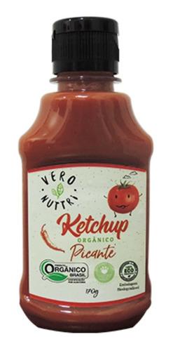 Imagem 1 de 3 de Ketchup Vero Nuttri Picante Orgânico 170g