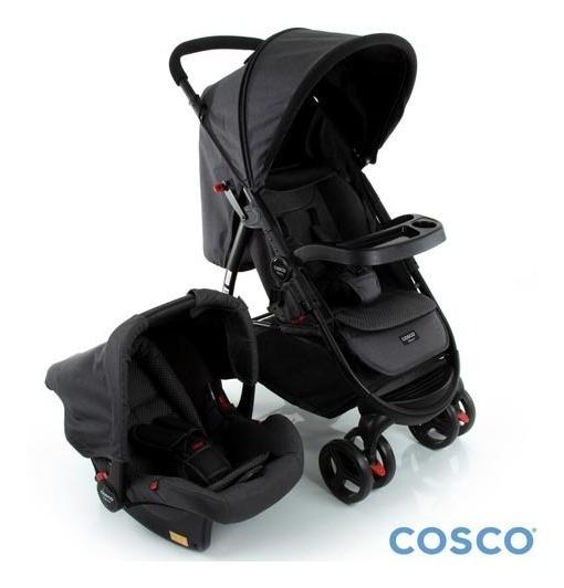 Carrinho De Bebê Travel System Nexus Até 15 Kg Preto - Cosco