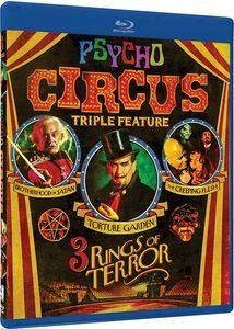 Blu-ray Psycho Circus: 3 Rings Of Terror Triple Feature