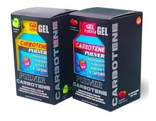 Carbotene X 20 Unidades Pulver Gel Energético Sin Tacc