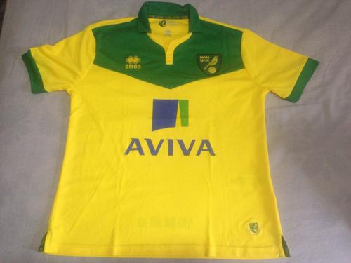 Camisa Errea Norwich City Home 2014-15