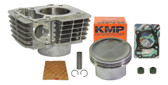Kit 190 Pistão Kmp Cg Titan Fan Bros 150