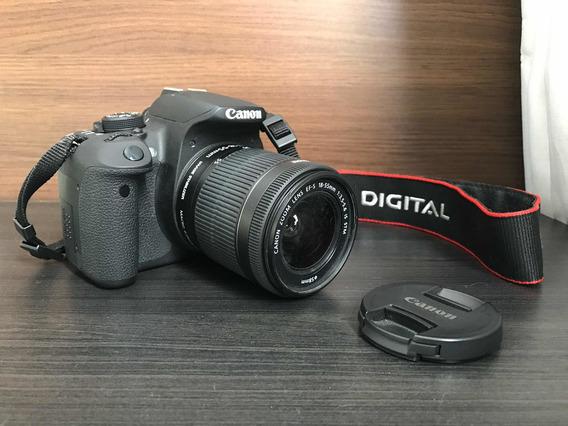 Câmera Fotográfica Cannon Rebel T5i - Entrega Apenas Em Maos