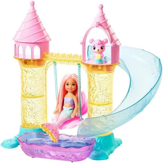 Boneca Barbie Chelsea Parque Aquatico De Sereias Dreamtopia