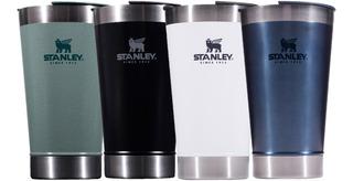 Vaso Stanley Con Destapador 473ml Térmico Original Colores