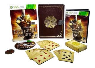 Fable Iii Edição De Colecionador Xbox 360 Mídia Física