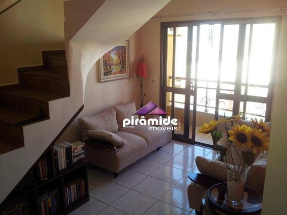 Cobertura Com 3 Dormitórios Para Alugar, 154 M² Por R$ 3.000,00/mês - Jardim Aquarius - São José Dos Campos/sp - Co0124