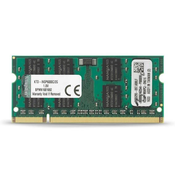 Kingston 2 Gb Ddr2 Sdram Memoria De 2 Gb (1 X 2 Gb) 800 Mh