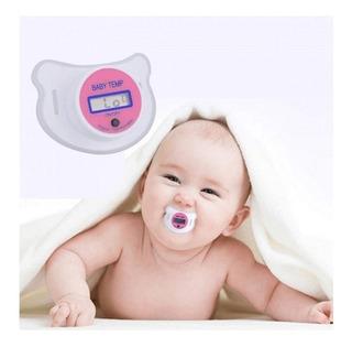 Chupete Termómetro Digital Para Bebes Libre De Bpa