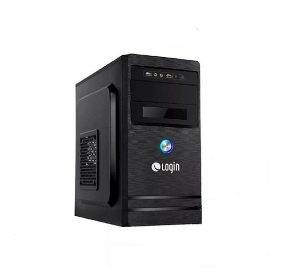 Computador Desktop Login Core I3 4gb Ssd 120gb Linux