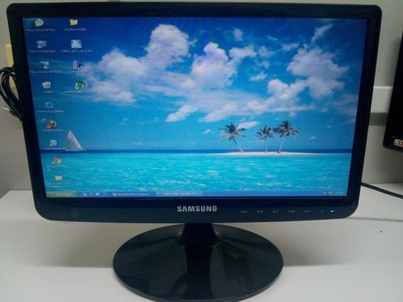 Monitor Samsung S16b110 Led 16 Perfeito Estado