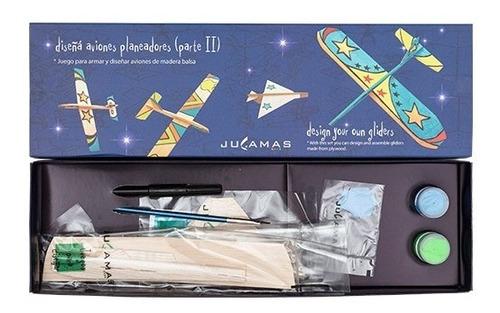 Imagen 1 de 5 de Diseña Aviones Planeadores 2 Set Arte Crear Manualidades Diy