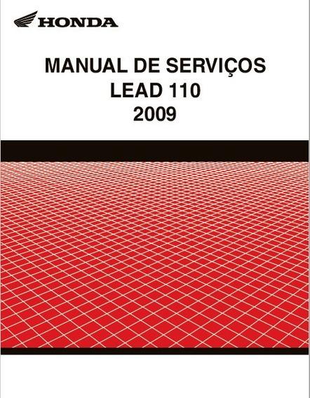 Manual De Serviços Honda Lead 110 2009 Pdf