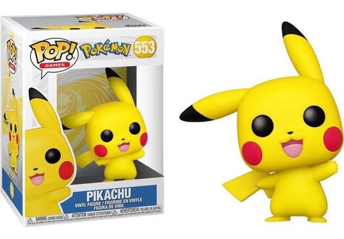 Boneco Funko Pop Games Pokémon Pikachu (waving) - #553