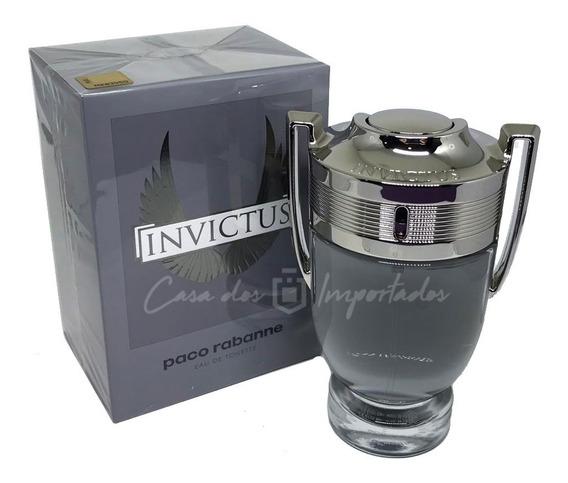Invictus Paco Rabanne 100ml | Original + Amostra De Brinde
