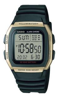 Reloj Casio W-96h Hombre Alarma Crono Sumergible Wr 50m