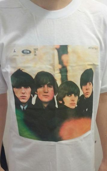 Camiseta Álbum Lp Dos Beatles - Beatles For Sale - M