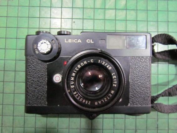 Camara Leica Cl Con Lente 40mm 2.2