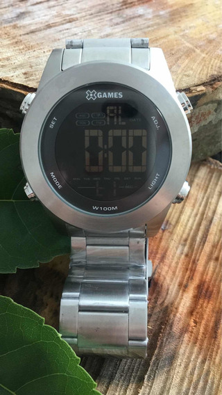 Relógio X-games Masculino Xmssd001 Prata Digital