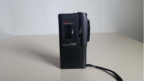 Sony M-529v Micro Cassette Portable Recorder